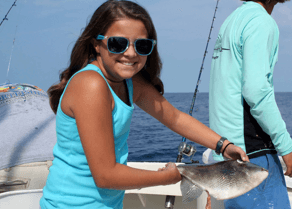 Big smiles are what charter fishing is all about.
