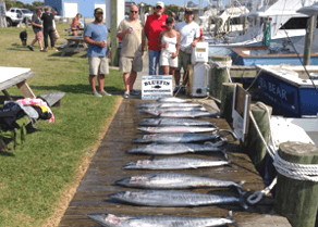 Wahoo fishing can be spectacular in August.