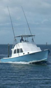 Bluefin Sportfishing Coming in from fishing offshore at Hatteras, NC.