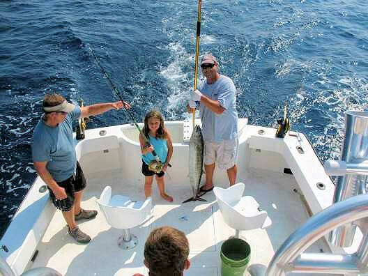 Affordable family friendly fishing charters out of Hatteras, NC.